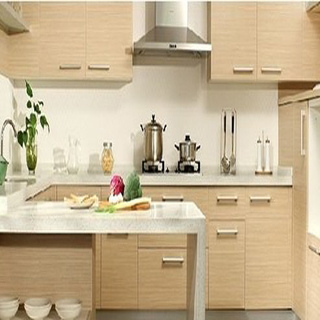 Factory Wholesale PVC Kitchen Cabinets