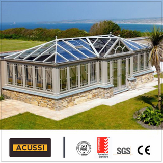 Aluminum Sunroom Roof Glass House Aluminium Sunroom for Balcony Building Project